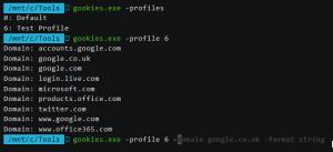 Gookies : A Chrome cookie dumper